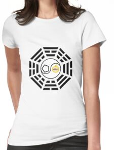 Discordian I Ching Womens Fitted T-Shirt