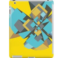Cool abstract digital explosion iPad Case/Skin