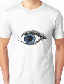 Deep Blue Eye Unisex T-Shirt
