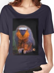 Bearded Monkey At Amaru Women's Relaxed Fit T-Shirt