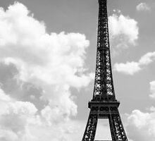 Eiffel Tower, Paris . France  by skid