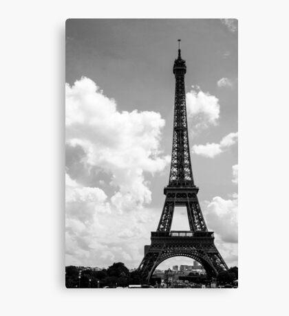 Eiffel Tower, Paris . France  Canvas Print