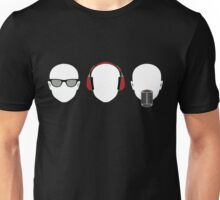 """See No Evil, Hear No Evil, Speak No Evil"" Unisex T-Shirt"