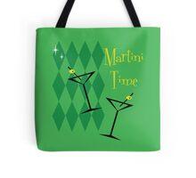 Retro Martini Tote Bag