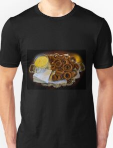 World's Best Onion Rings At Joe's Unisex T-Shirt