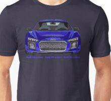 Audi 2015 R8 e-tron Pen and Ink Sketch Unisex T-Shirt