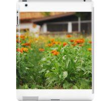 Orange Marigolds iPad Case/Skin