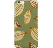 Gavotte 1 (Green) iPhone Case/Skin