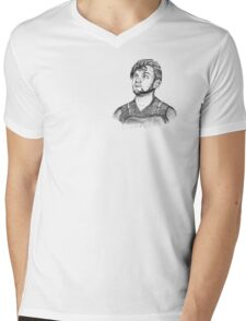 The Knight in not so Shiny Armour  Mens V-Neck T-Shirt