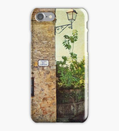 Tuscany rural landscape iPhone Case/Skin