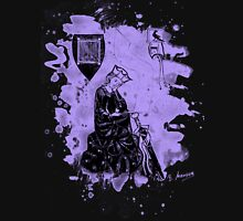 Walther von der Vogelweide - violet bleached Unisex T-Shirt