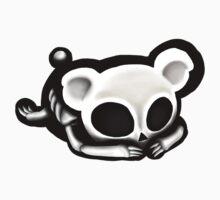 Skeleton bear Kids Tee