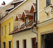 Historic Street in Kranj Sticker