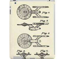 Starship Enterprise Star Trek-1981 iPad Case/Skin