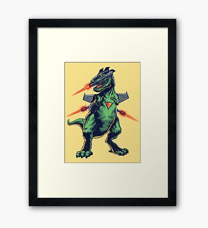 Scifi Dino Framed Print