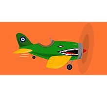 Adventure Planes: Vintage Jet Photographic Print