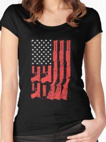 Second Amendment Women's Fitted Scoop T-Shirt