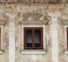 Historic Building in Skofja Loka 5 Sticker