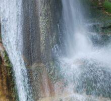 Salino Waterfall Detail 2 Sticker