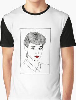 Rachael. Blade Runner Graphic T-Shirt
