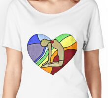 Yoga Camel Pose Women's Relaxed Fit T-Shirt