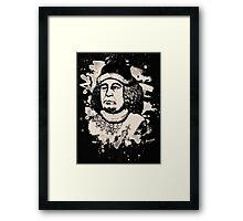 Oswald von Wolkenstein - bleached Framed Print