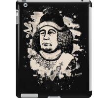 Oswald von Wolkenstein - bleached iPad Case/Skin