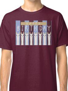 HAPPY BIRTHDAY LLAMAS Classic T-Shirt