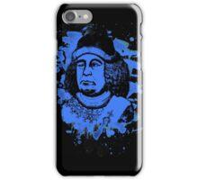 Oswald von Wolkenstein - blue bleached iPhone Case/Skin