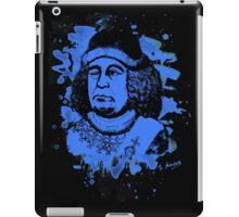 Oswald von Wolkenstein - blue bleached iPad Case/Skin