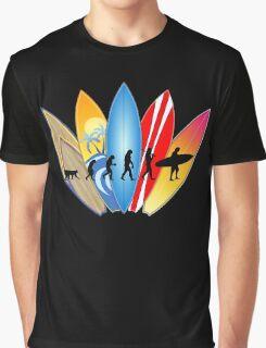 Surfer Evolution Graphic T-Shirt