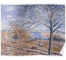 Alfred Sisley - Banks of the Loing - Autumn Effect, 1881 1881 Poster