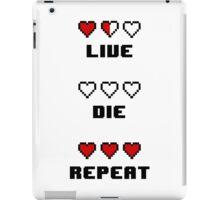Live. Die. Repeat. iPad Case/Skin