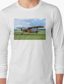 Fairchild 24R-46A Argus III HB751 G-BCBL Long Sleeve T-Shirt