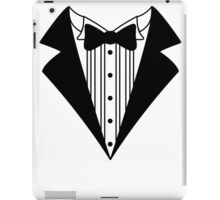 Novelty tux iPad Case/Skin
