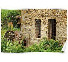 Abandoned Mill Near Salino  Poster