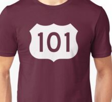 US Route 101 Sign - Contrast Version Unisex T-Shirt