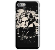 Ludwig Van Beethoven Tribute (creme white) iPhone Case/Skin
