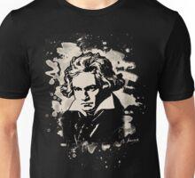 Ludwig Van Beethoven Tribute (creme white) Unisex T-Shirt