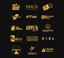 The Awards of The Award Winning Game Black Tee/Poster Unisex T-Shirt