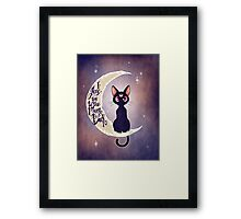 I love you to the moon & back (remix) Framed Print