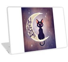I love you to the moon & back (remix) Laptop Skin