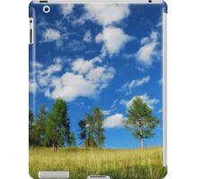 Trees with Cumulus Fractus  iPad Case/Skin