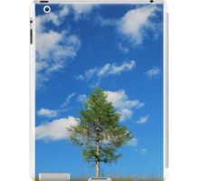 Tree with Cumulus Fractus iPad Case/Skin