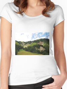 Friulian Dolomites  Women's Fitted Scoop T-Shirt