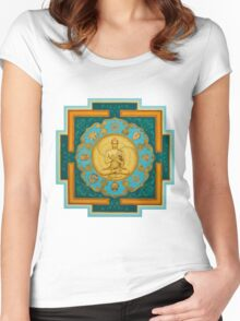Buddha. Jewels of Dharma Women's Fitted Scoop T-Shirt