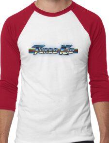 Turbo Kid Logo Men's Baseball ¾ T-Shirt