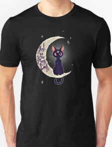 I love you to the moon & back (remix) Unisex T-Shirt