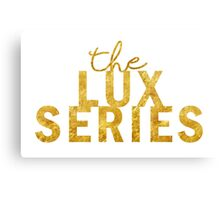 Gold Lux Canvas Print