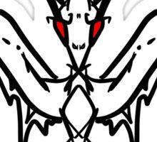 Bat Design Sticker